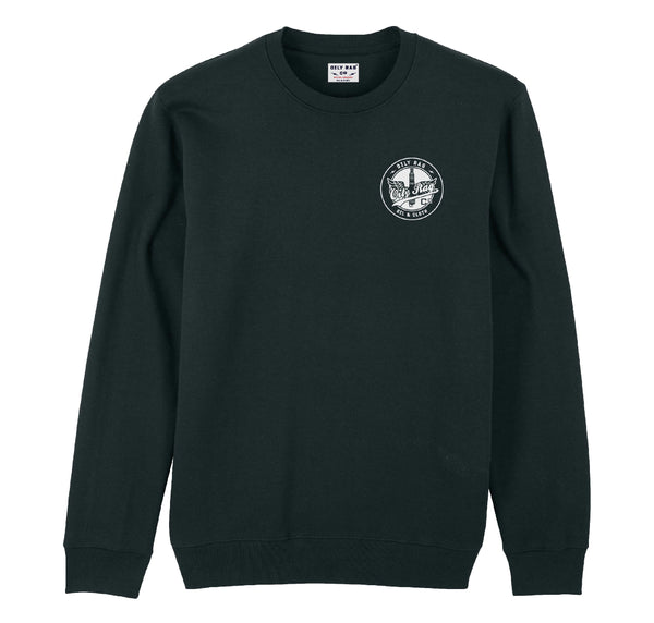 Works Team Crew Neck Sweatshirt - Black