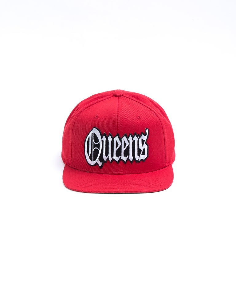 """QUEENS County"" Black Queens 5Boro Series Hat"