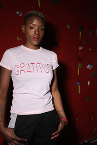 GRATITUDE by Values 4 Life (Thin Letters)(Women)