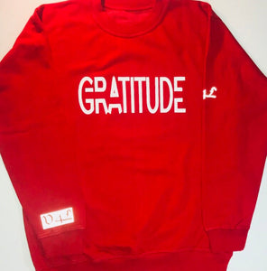 """GRATITUDE"" Values 4 Life (Red)"