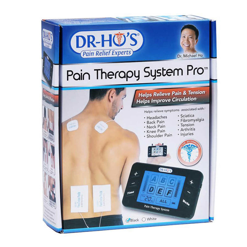 DR-HO'S-Pain Therapy System Pro with Gel Pad Kit and Pain Therapy Back Relief Belt