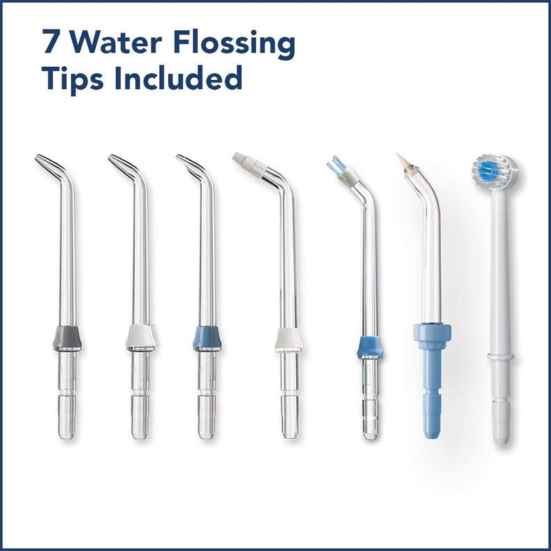 Waterpik ADA Accepted WP-663 Aquarius Water Flosser - Blue