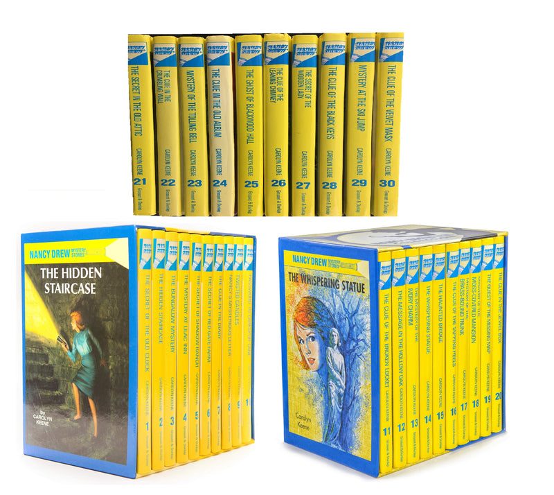 Nancy Drew Mystery Collection Vol. 1-30 (Boxed Set of 30 books) [Hardcover]