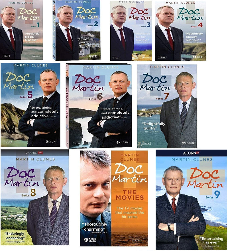 Doc Martin Complete Series 1-9 Box Set (DVD)