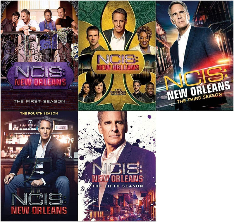 NCIS New Orleans: Seasons 1-5 DVD Collection