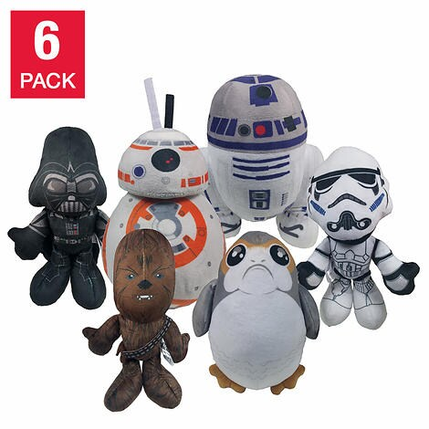 "9"" Super Fan Star Wars Plush Pack"