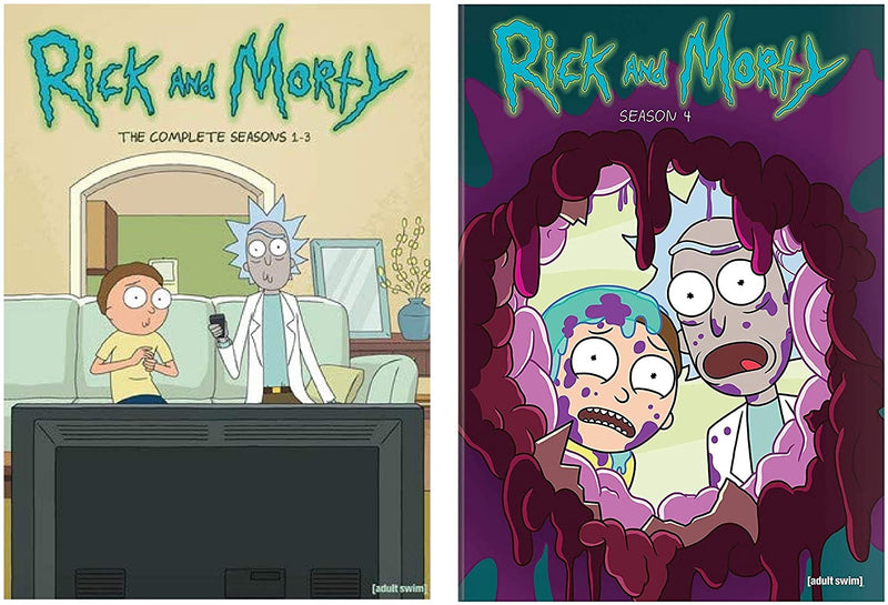 Rick and Morty DVD Complete Series