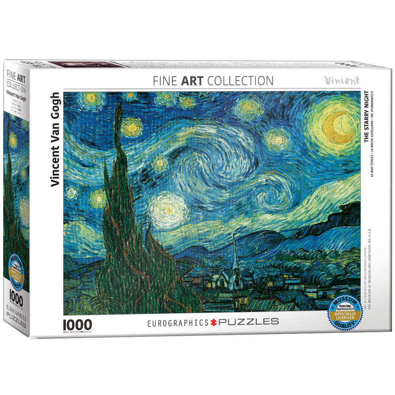 Eurographics Starry Night Puzzle with Accessory Kit - English Only