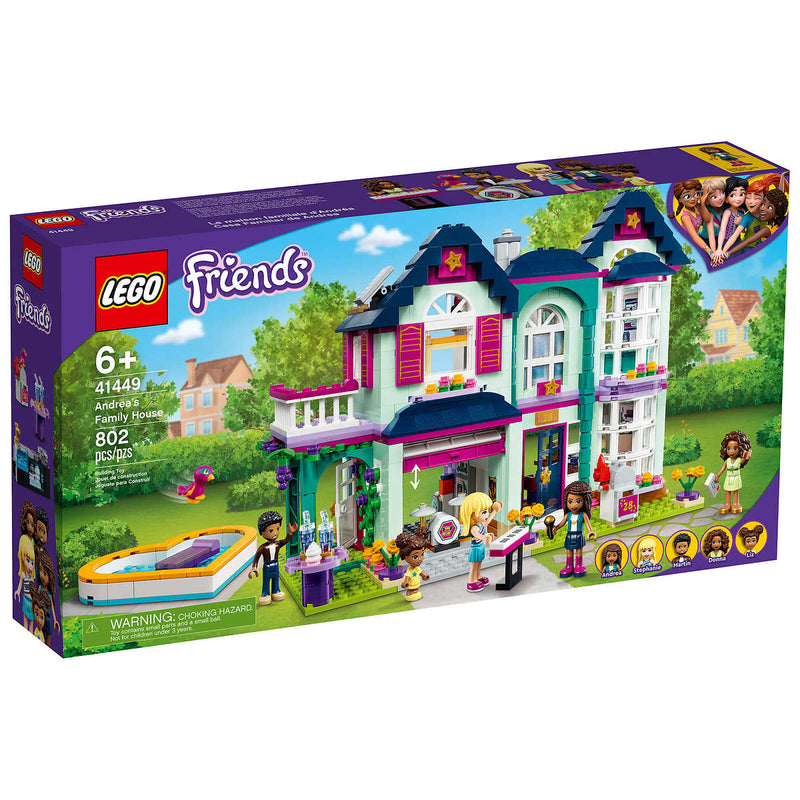 LEGO Friends Andrea's Family House, 41449