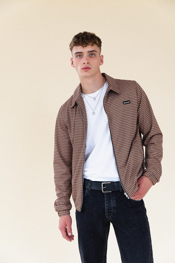 DOGTOOTH HARRINGTON JACKET