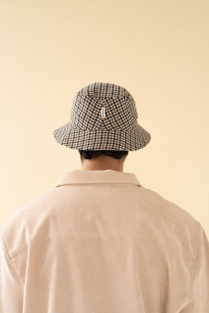 DOGTOOTH BUCKET HAT