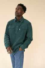 BOTTLE CORD HEAVY OVERSHIRT