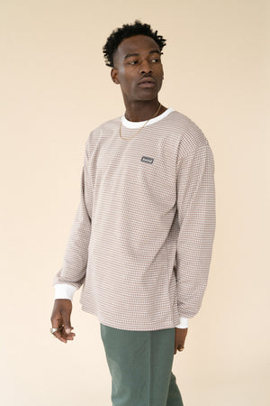 Load image into Gallery viewer, DESERT DOGTOOTH LS TEE