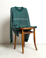 FOREST STRIPE HEAVY LS TEE