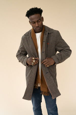 JASPER WOOL TRENCH COAT