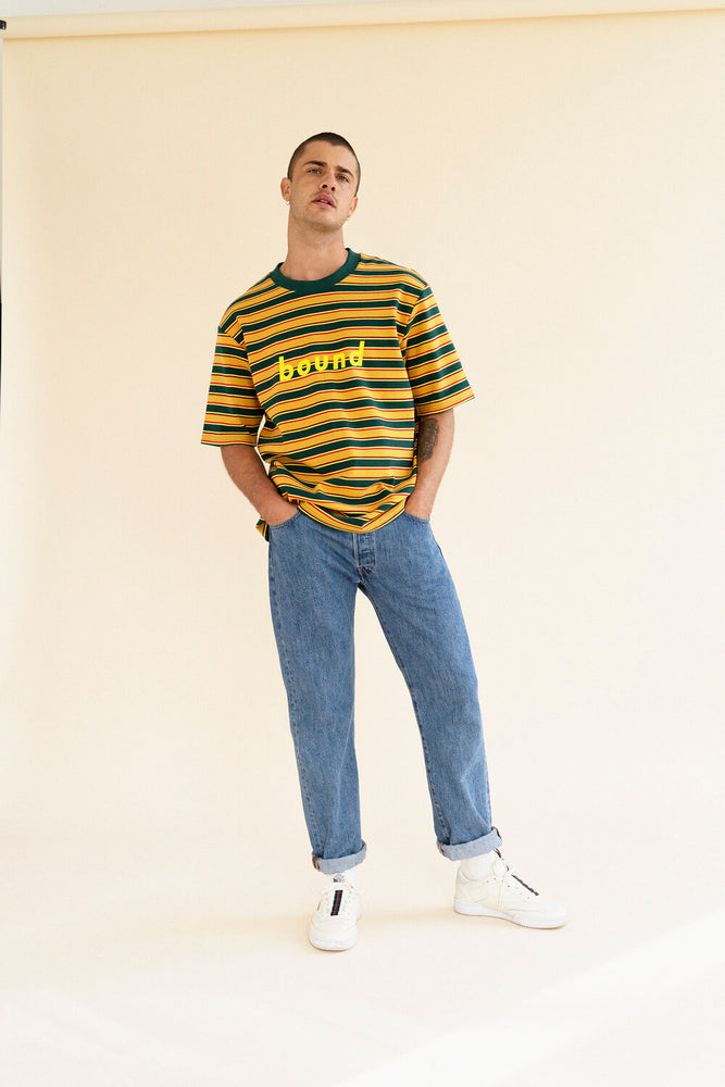SAMBA STRIPE KNIT TEE