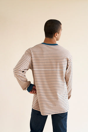 Laden Sie das Bild in den Galerie-Viewer, DESERT STRIPE LS TEE