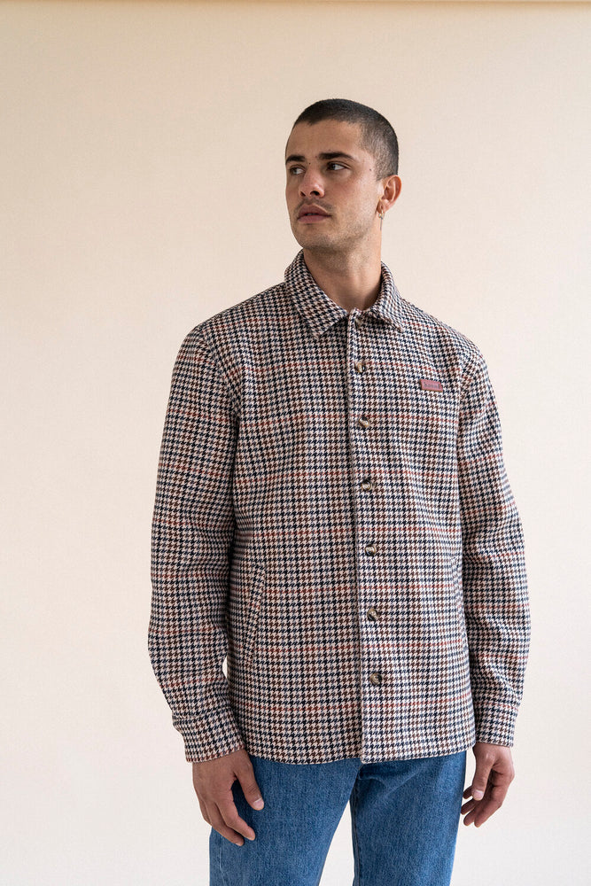 DOGTOOTH HEAVY COACH JACKET