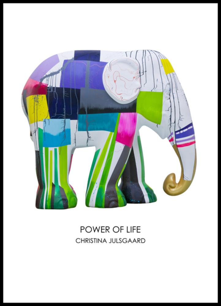Power Of Life / art poster 42X59,4 cm / A2