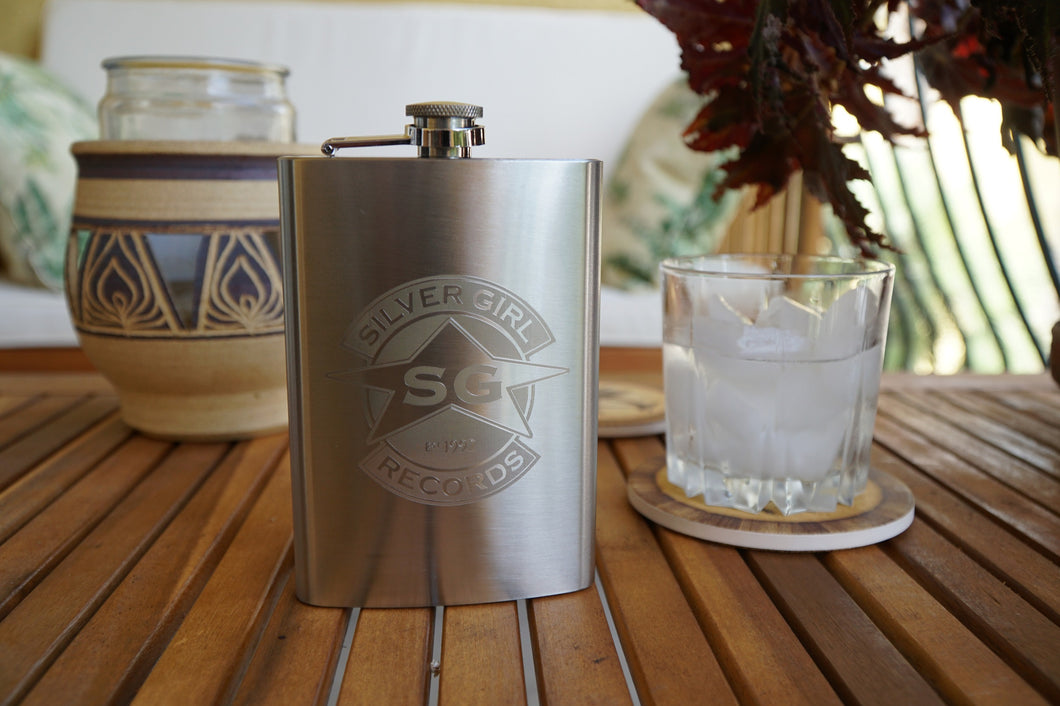 SGR Stainless Steel Hip Flask