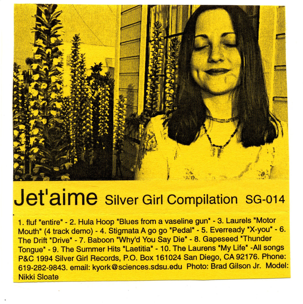 Jet'aime, A Silver Girl Compilation (Cassette)