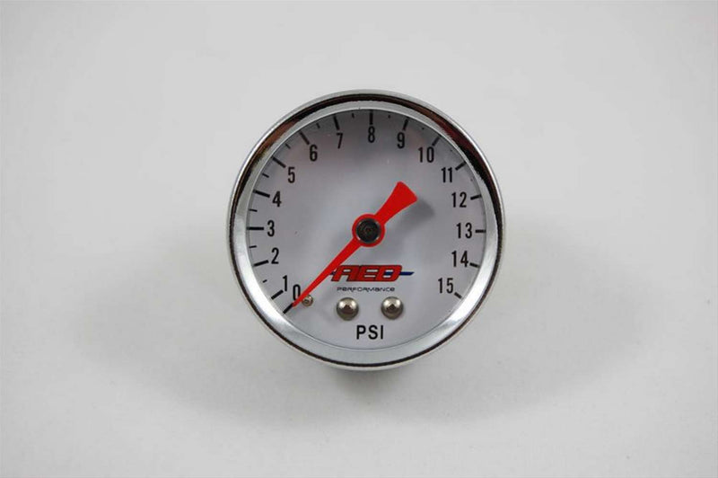 AED6100 | 1-1/2 Fuel Pressure Gauge 0-15psi