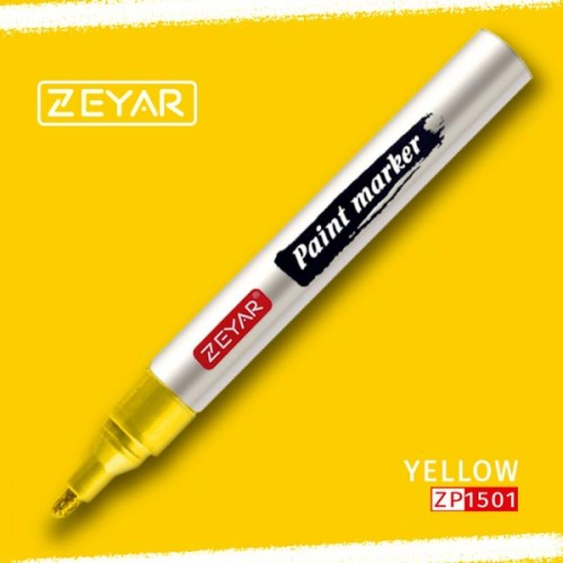 Zeyar Paint Markers Yellow - Basics.Pk