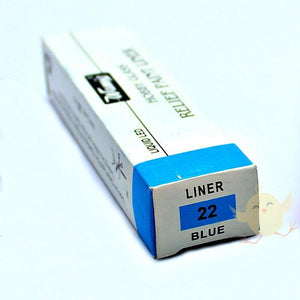 Wamiq Relief Paint Liner Blue [22] - Basics.Pk
