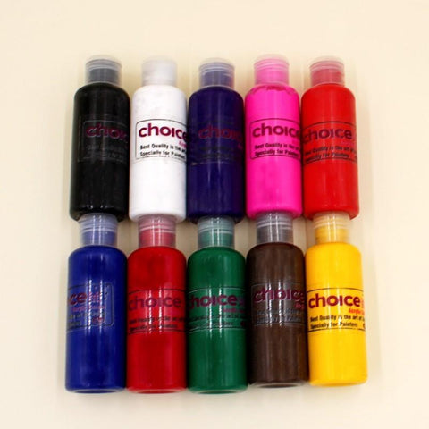 CHOICE 100ml Acrylic Paints VIBRANT COLORS - Basics.Pk