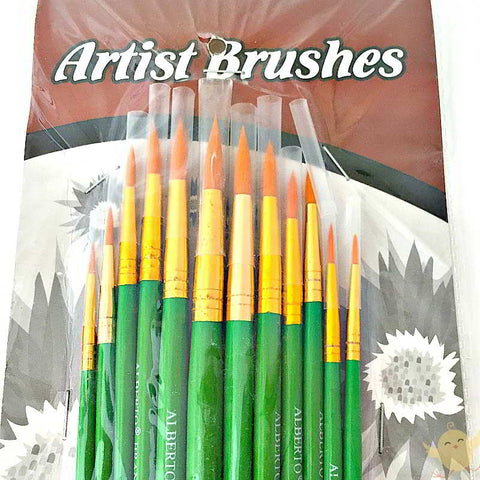 Water Color Brushes in SINGLE Sizes - Basics.Pk