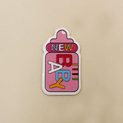 Badge New  Baby Girl Feeder Pink - Basics.Pk
