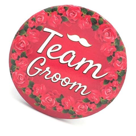 Badge Team Groom - Basics.Pk