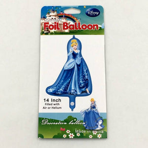 "Balloons Foil 14"" Princess Blue - Basics.Pk"