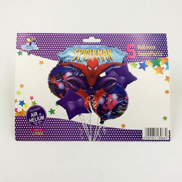 Balloons Spiderman Pack of 5 - Basics.Pk