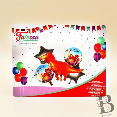 Balloons Dinosaur Pack of 5 - Basics.Pk