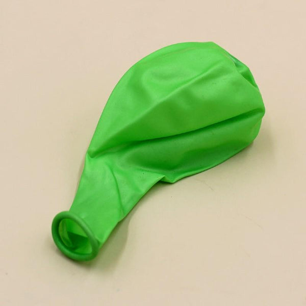 Balloons Plain Party Balloons Parrot Green (Single) - Basics.Pk