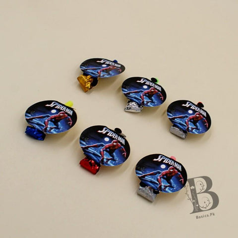 Blowouts Spider Man 6 whistles - Basics.Pk