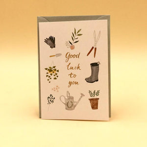 Greeting Card Good Luck to you - Basics.Pk
