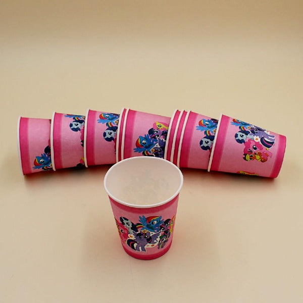 Cups Little Pony 10 pcs - Basics.Pk