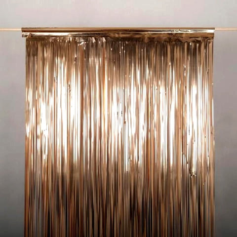 Curtain Foil Strips Copper
