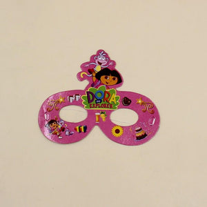 Mask Dora Explorer theme Pack of 10 - Basics.Pk