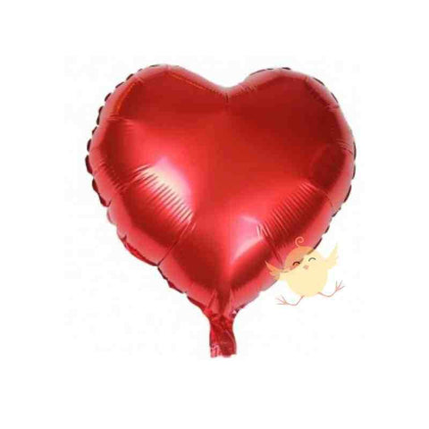 Balloons Foil Heart Shape Red - Basics.Pk