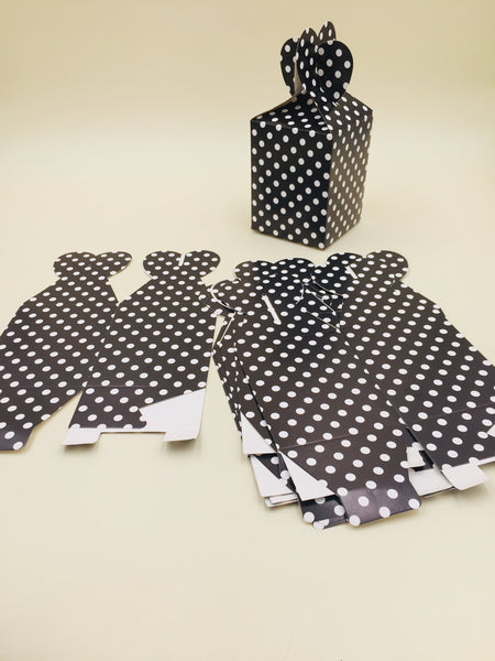 Goody Box Black small dot Pack of 6 (Small) - Basics.Pk
