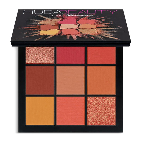 Huda Beauty Obsessions Palette-Coral