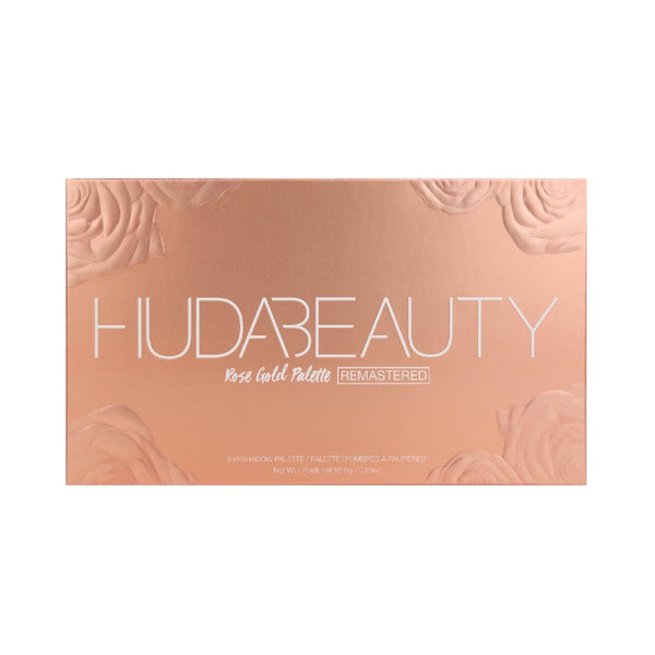 Huda Beauty Rose Gold Remaster Palette