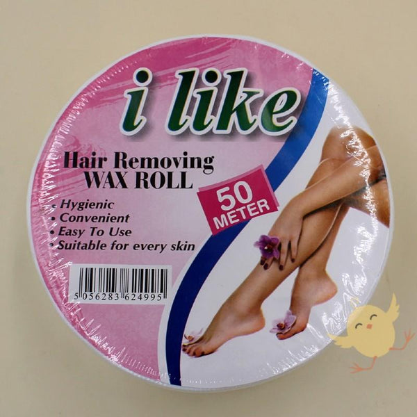 I Like Hair Removing Wax Strips Roll Non-wax (50meter) - Basics.Pk