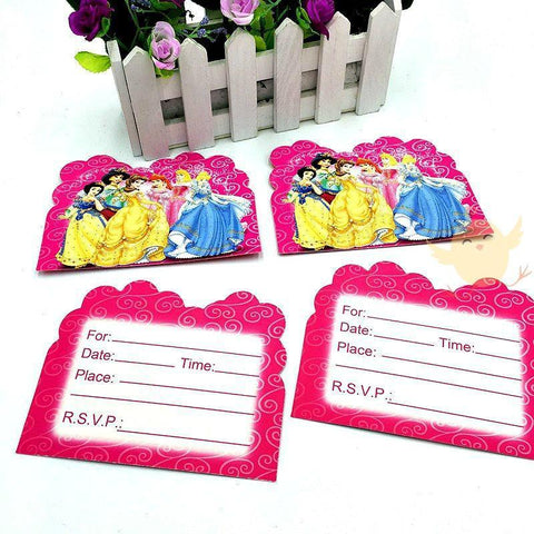 Invitation Card 6 Princess - Basics.Pk