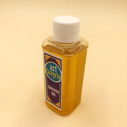 Art Favorite Drying Linseed Oil  120ml - Basics.Pk