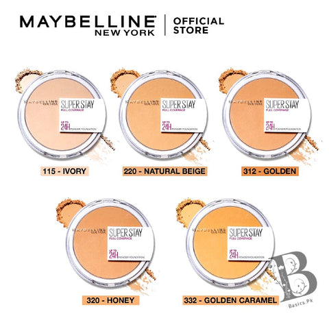 MAYBELLINE Superstay Full Coverage Powder Foundation 16H
