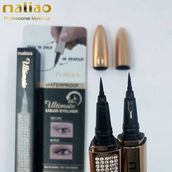 Maliao Ultimate Liquid Eyeliner Waterproof (M-202) - Basics.Pk